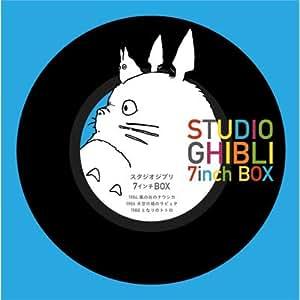 STUDIO GHIBLI 7inch BOX スタジオジブリ 7インチ BOX (5枚組7インチシングルレコード)