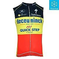 Thriller Rider Sports MN9008M サイクルジャージ メンズ MTB男性2019自転車運動服装ノースリーブ ベスト(冬は、暖かく保ちます)3X-Large