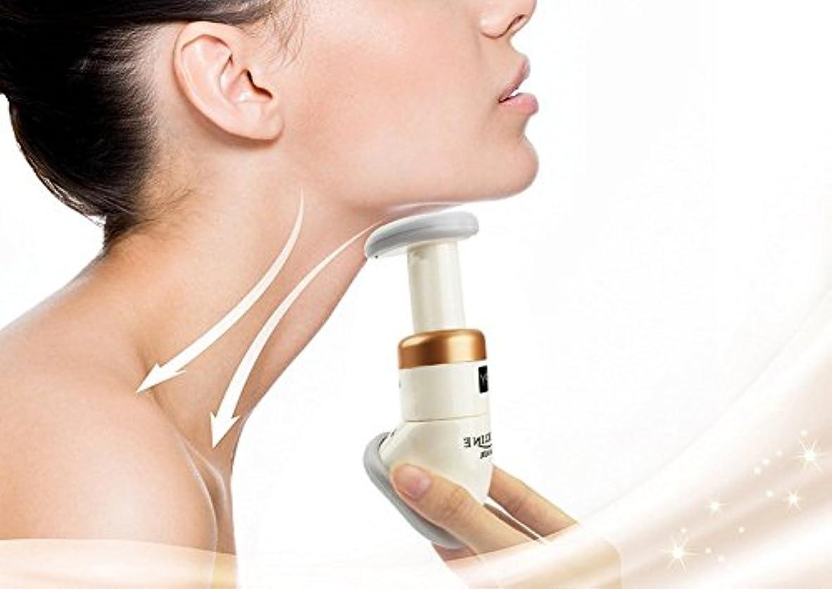 チンスリマーマッサージャー - ネックの筋肉をしっかりと締め付け、劇的な持ち上げのためにスキンを締め、ダブルチンを減らす