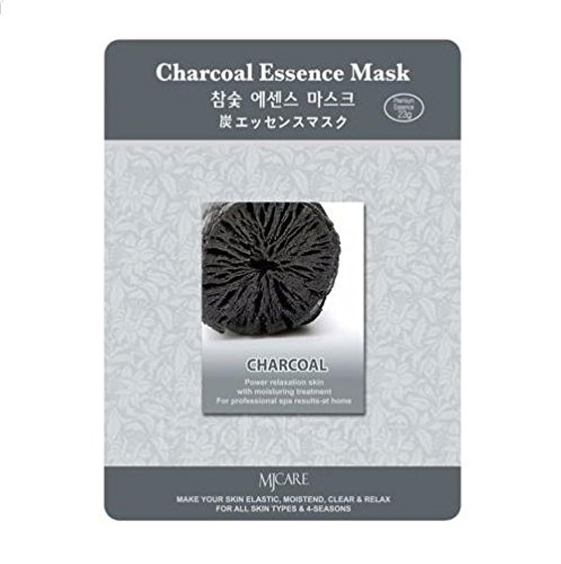 クロールペイント内陸MJCAREエッセインシャルマスク黒炭(フェイスパック)
