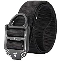 125cm ENNIU FA38-2 3.8cm Tactical Belt Nylon Adjustable Belts Zinc Alloy Buckle