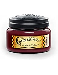 ホットMaple Toddy Toddy 10オンスJar Candleberry Small Candle