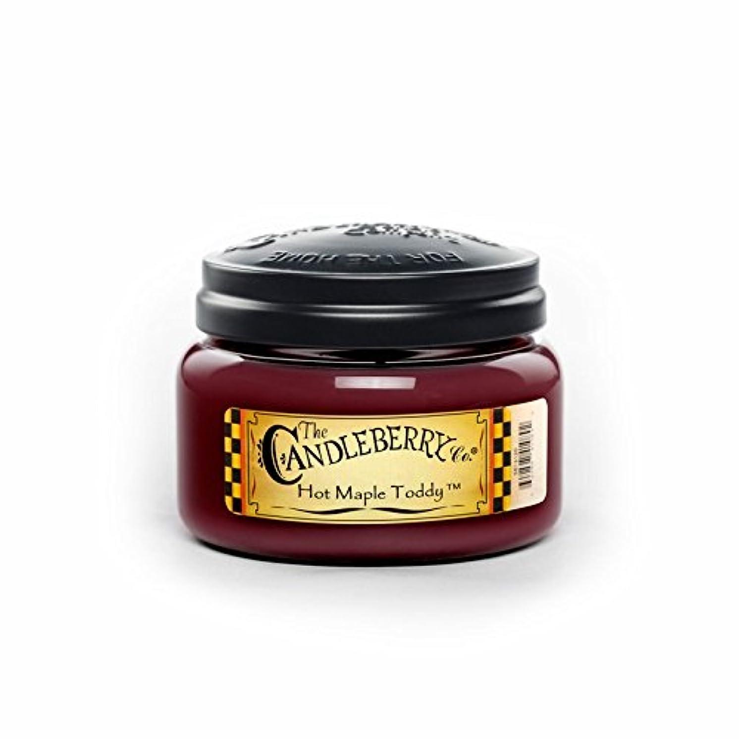丈夫プレゼンテーション症候群ホットMaple Toddy Toddy 10オンスJar Candleberry Small Candle
