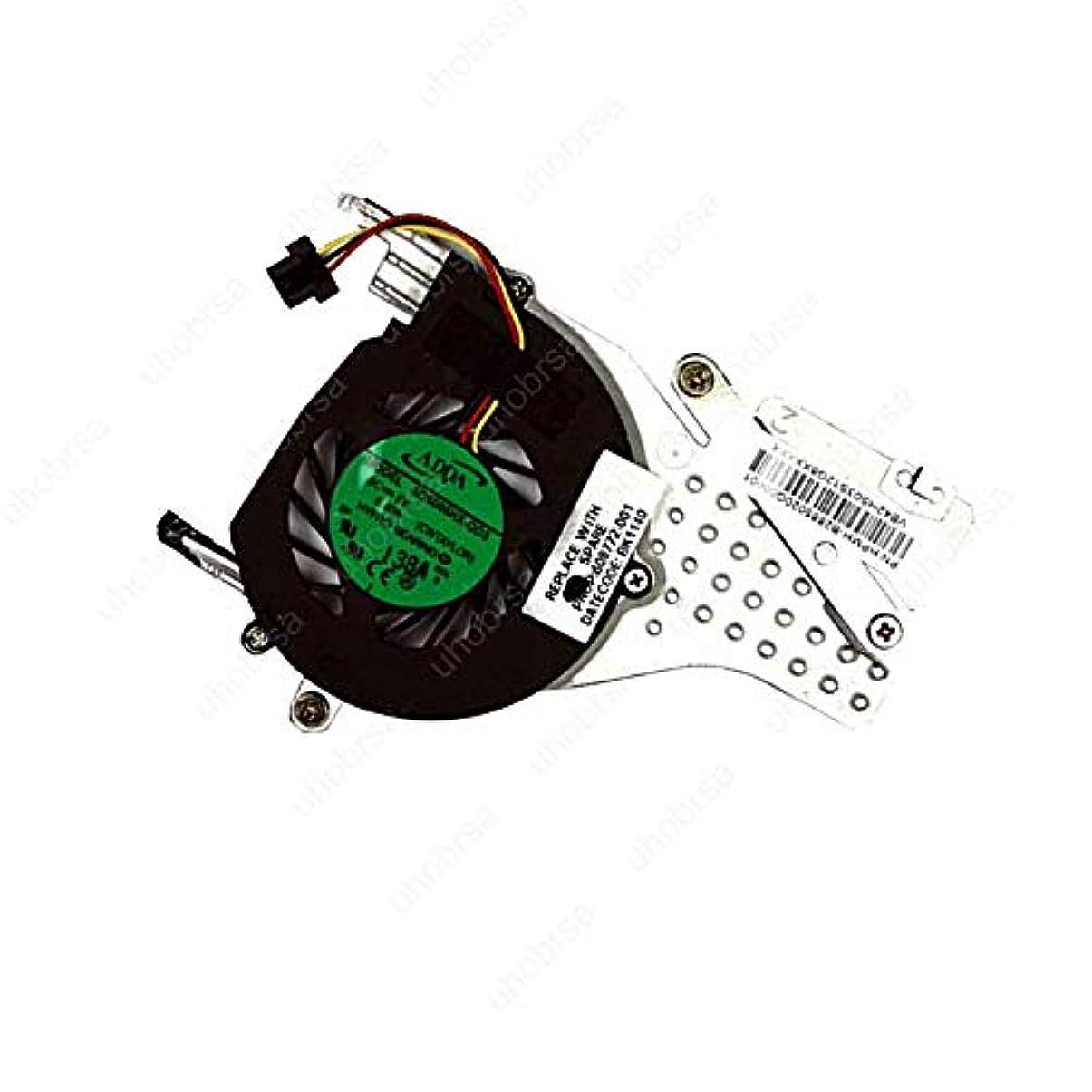 酸化物柔和効果的UHOBRSA と互換性があります Compaq Mini CQ10-600LA CQ10-601LA CPU ファン と ヒートシンク