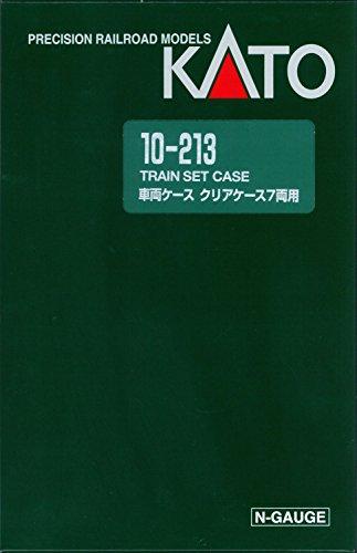 Nゲージ 車両ケース 車両ケースD (クリアケース 7両用) #10-213