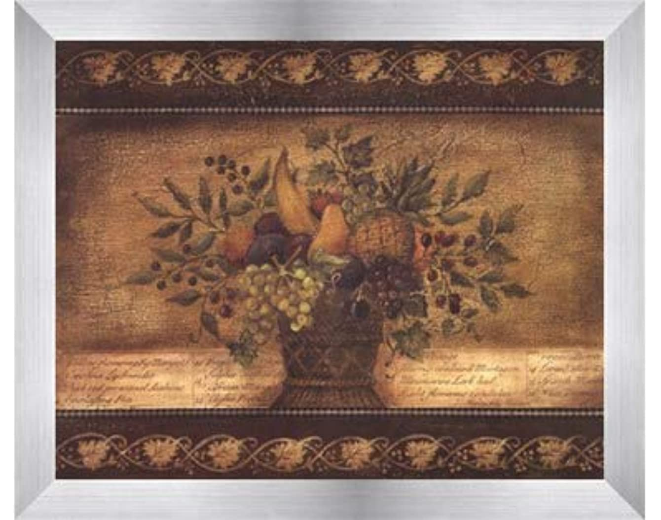 資格入札レオナルドダOld World Abundance I by Kimberly Poloson – 10 x 8インチ – アートプリントポスター LE_112347-F9935-10x8