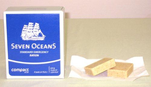 セブンオーシャンズ SEVEN OCEANS(救難食糧・圧縮ビスケットタイプ)防災用保存食