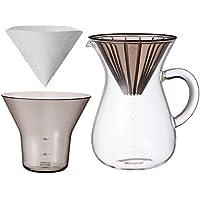 KINTO (キントー) コーヒーカラフェセット SCS-02-CC-PL 600ml 27644