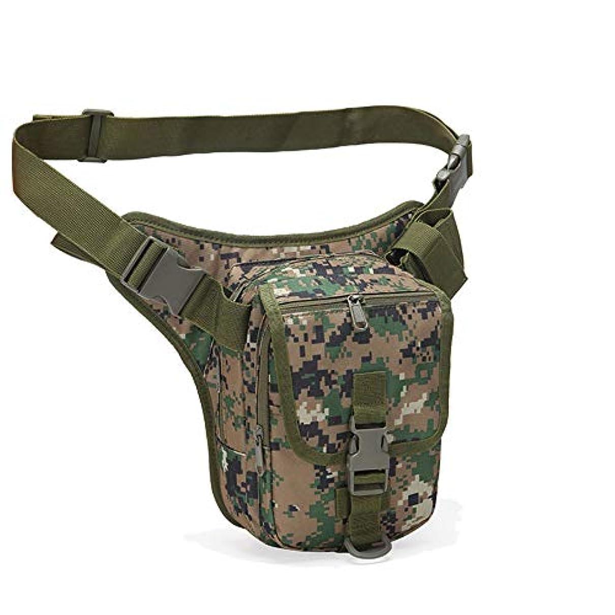 ボイド処理するトリムOutdoor Tactical Bag Assault Combat Camouflage Tactical Molle Leg Pack