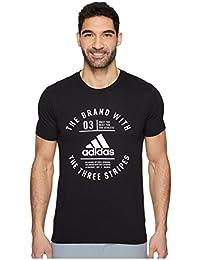 (アディダス) adidas メンズタンクトップ・Tシャツ Three Stripe Life Emblem Tee