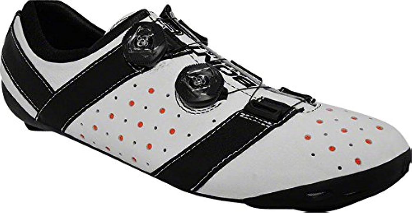 どういたしまして含める優れましたBont Vaypor + Road Cycling Shoe :ホワイト/ブラックサイズ45