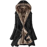 EASONDDD レディース モッズコート アウター コート ジャケット 裏ボア ミリタリーコート 中綿コート 長袖 中綿 フード付き フェイクファー ミリタリー ロング 2way カジュアル エレガント 大きいサイズ
