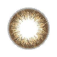 エンジェルカラー バンビシリーズ ヴィンテージ 1箱2枚入り(1ヶ月) ヴィンテージブラウン 着色直径 13.4mm【PWR】±0.00(度なし)