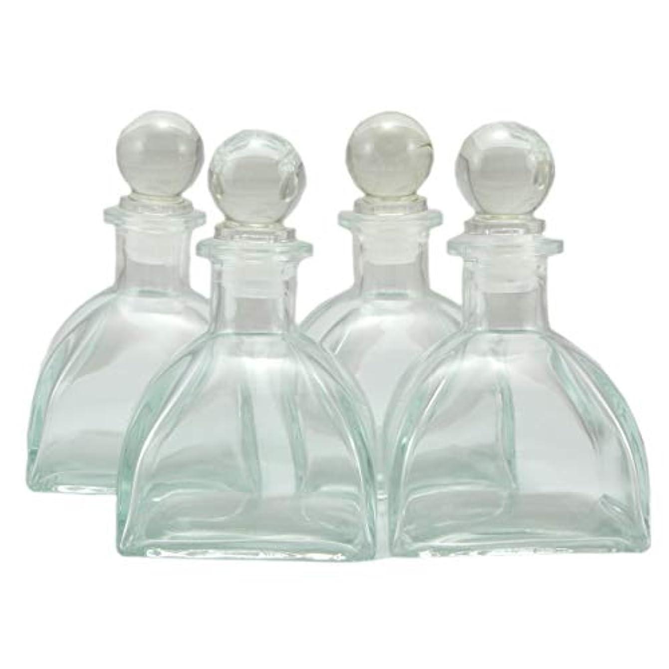 ヒープを必要としていますオピエート4本セット高級アロマ精油拡散ボトル、オフィス、ショップ、ホーム高品位アロマガラスボトル、150mlアロマエッセンシャルオイルガラスボトル