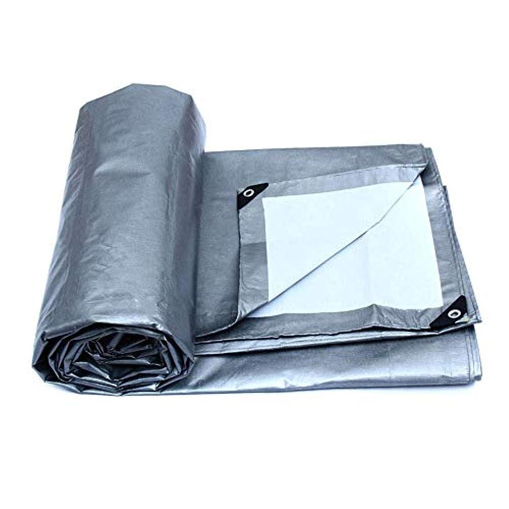耳概念姿を消す12J-weihuiwangluo プラスチック布の日曜日の保護の防水シートの雨布の陰の布の屋外の日曜日の絶縁材の防水シート (Color : Silver, サイズ : 2m*1.5m)