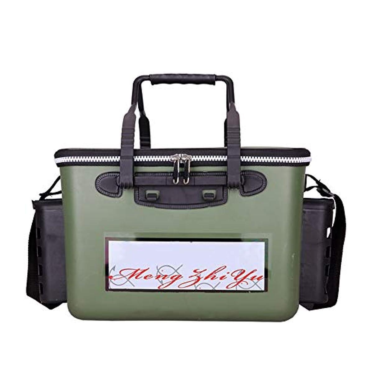バケット悪魔十Peacefre 釣り用バケツ - 屋外用釣り道具 - ポータブル28L水容器保管管理キットには雑貨一式 - シザーバッグ - 4本の釣り竿