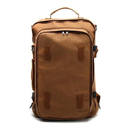 【高品質 メンズバッグ-Mstation】-通勤/通学/旅行/アウトドアにもOK! 収納たっぷり!3色展開!3WAY『リュック メンズ/リュック メンズ おしゃれ/リュック 大容量/リュック アウトドア』就活 バッグ (ブラウン (Brown))