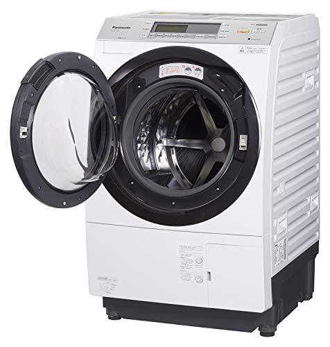 Panasonic (パナソニック) ななめドラム洗濯乾燥機 10kg 左開き クリスタルホワイト B07GXHSSJH 1枚目