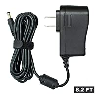 FouceClaus ブラザー P-タッチ D210 pt-D210 pt-D200VP ラベルメーカーのための Ac Dc アダプタ, ブラザー ad-24 ad-24ES ad-20 ad-30 ad-60 (8.2 フィート長いコード) のための UL 上場電源充電器