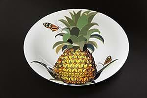 今森光彦 オーレリアン パスタ皿 トンボ斑とパイナップル