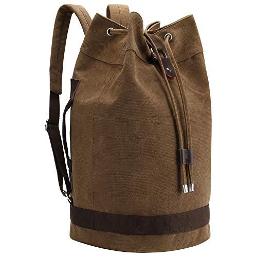 さかなのらく デイパック リュック バックパック 通勤 通学 バッグ 男女兼用 大容量 帆布製 盗難防止