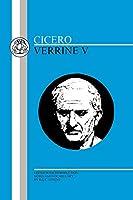 Cicero: Verrine V (Bristol Latin Texts Series)
