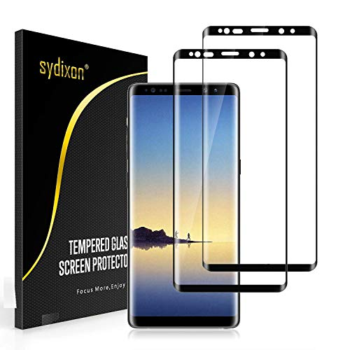 Sydixon Galaxy Note9 ガラスフィルム 強化ガラス液晶保護フィルム【2枚セット】【日本製素材旭硝子製】業界最高硬度9H/高透明/ 3D Touch対応 3Dラウンドエッジ加