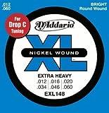 D'Addario ダダリオ エレキギター弦 ニッケル Extra Heavy .012-.060 EXL148 【国内正規品】