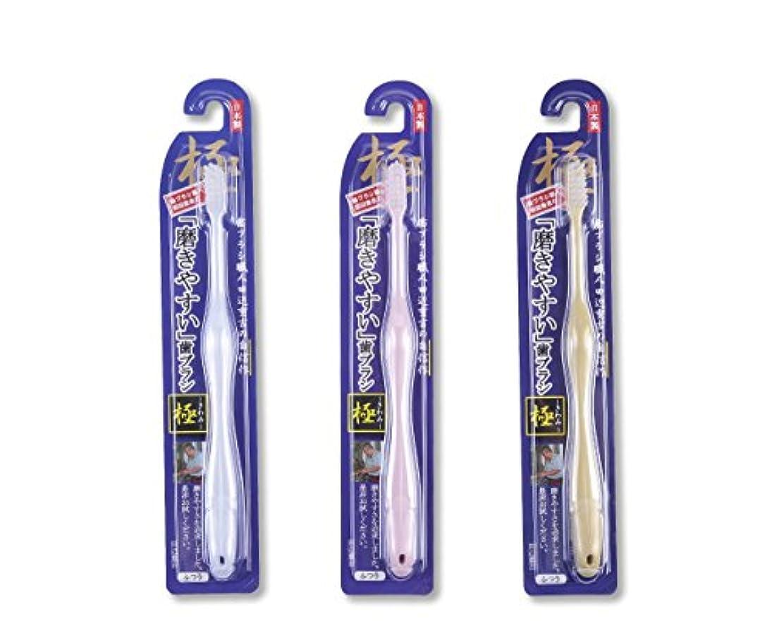 ホット論理お茶歯ブラシ職人Artooth ® 田辺重吉の磨きやすい歯ブラシ 極 LT-09 (3本入)