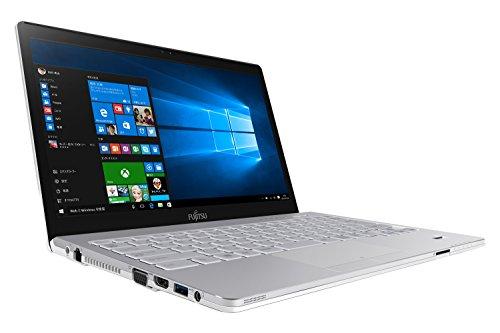 富士通 ノートパソコン FMV LIFEBOOK SHシリーズ WS1/W(Windows 10/13.3型ワイド/Core i5/4GBメモリ/約500GB HDD/Officeなし/アーバンホワイト)FMVWWS17_Z532