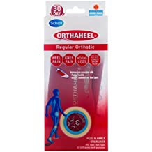 Scholl Orthaheel Orthotic Insole Pain Relief and Support, Large