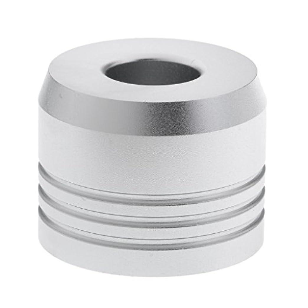 彫刻闘争ジャーナリストBaosity カミソリスタンド スタンド シェービング カミソリホルダー ベース サポート 調節可 乾燥 高品質 2色選べ   - 銀