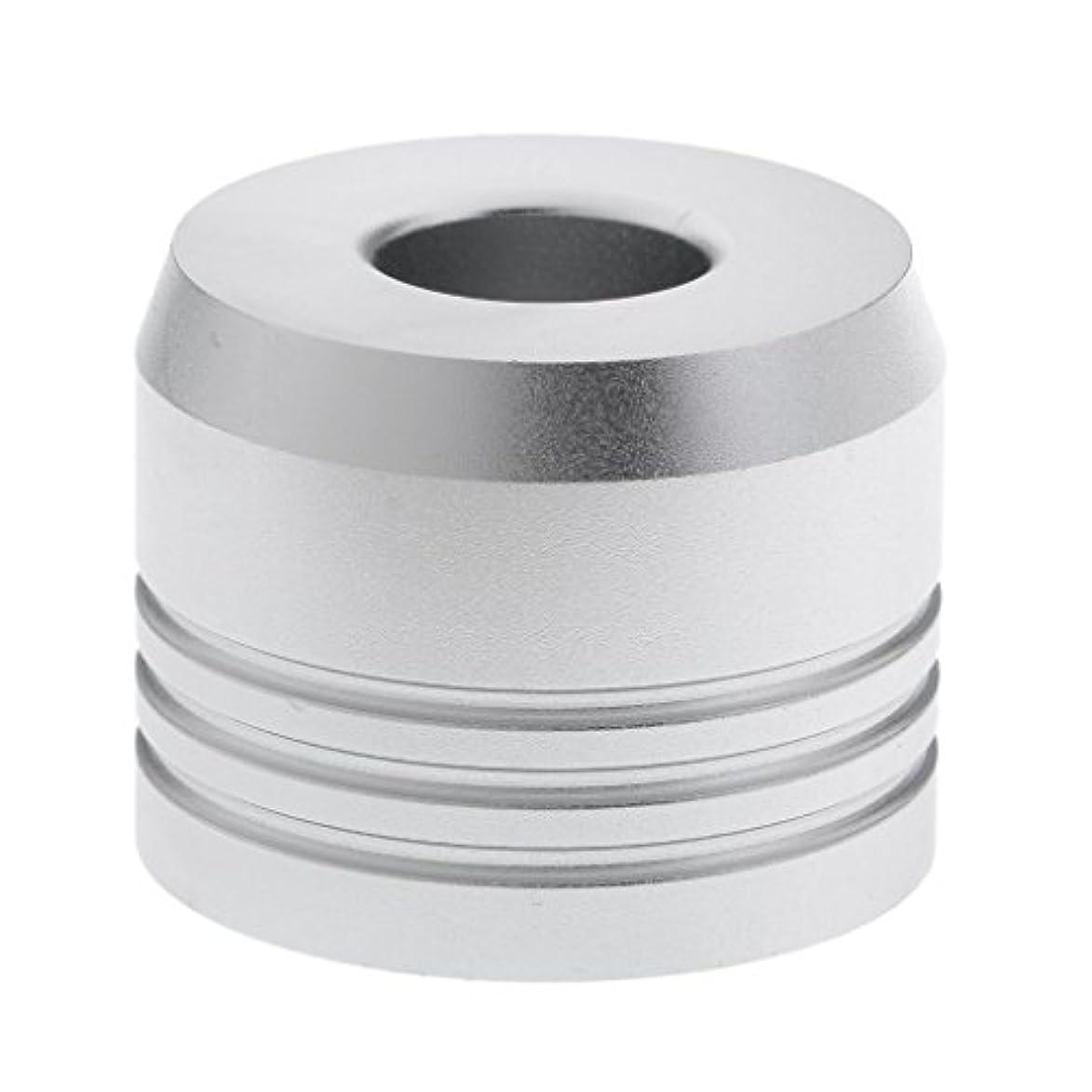 スタウトサイレント自動化カミソリスタンド スタンド シェービング カミソリホルダー ベース サポート 調節可 乾燥 2色選べ - 銀