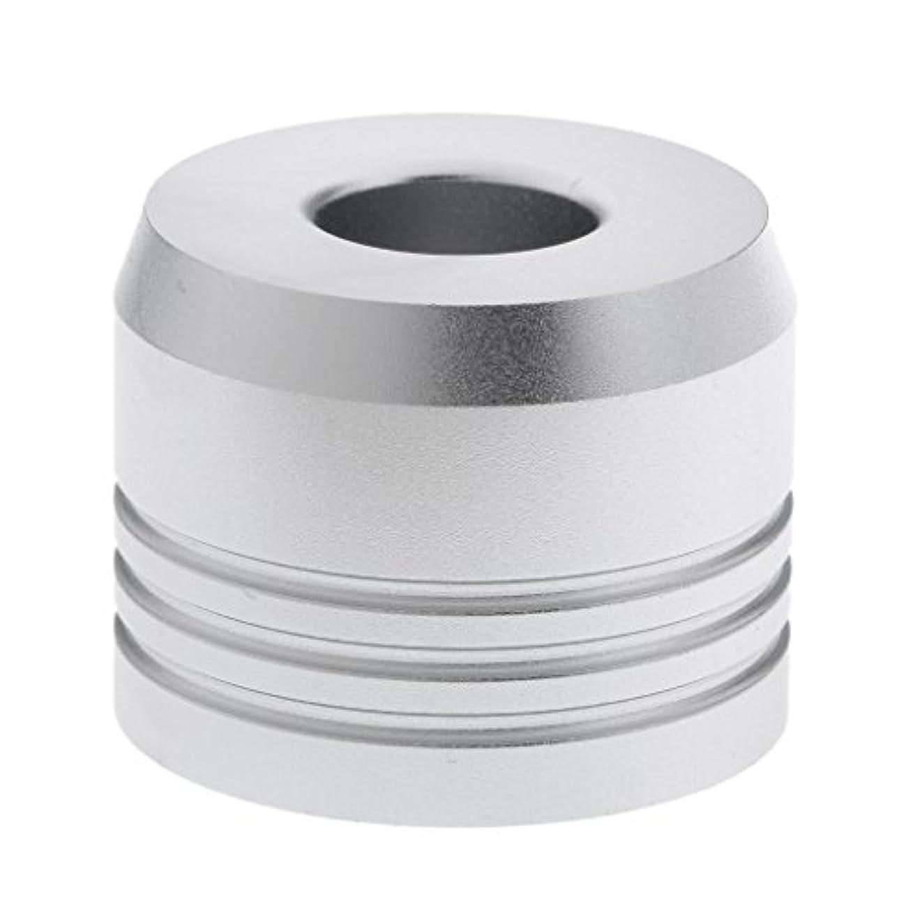 軸強調する枝カミソリスタンド スタンド シェービング カミソリホルダー ベース サポート 調節可 乾燥 2色選べ - 銀