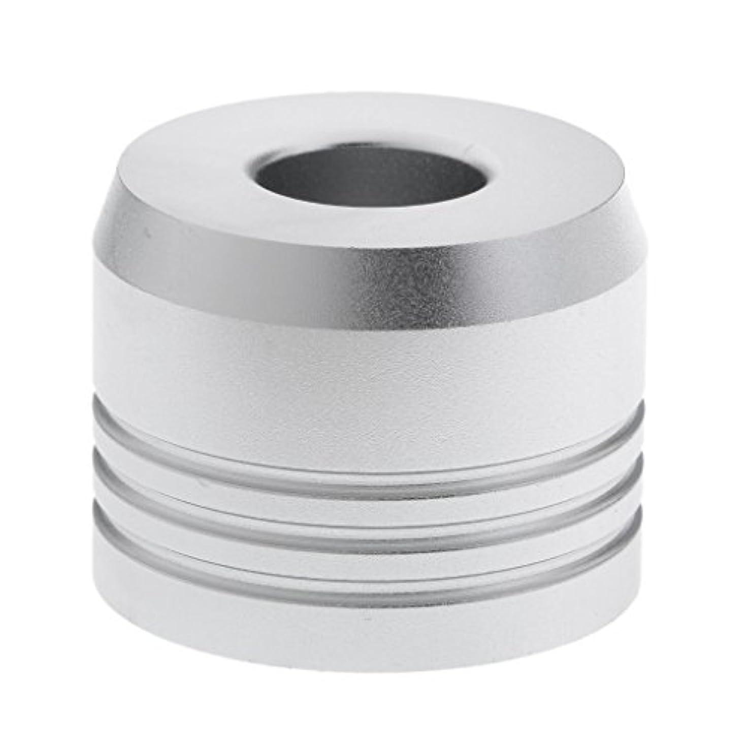 旅行ビルマ同一のBaosity カミソリスタンド スタンド シェービング カミソリホルダー ベース サポート 調節可 乾燥 高品質 2色選べ   - 銀