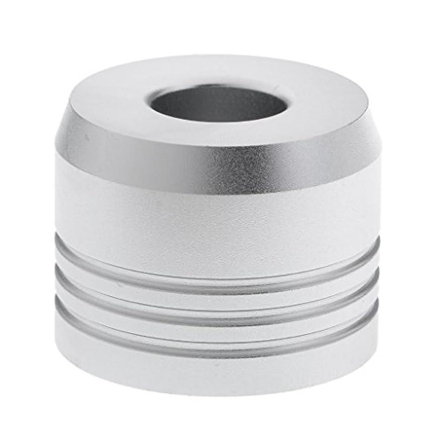 性能忌避剤チケットカミソリスタンド スタンド シェービング カミソリホルダー ベース サポート 調節可 乾燥 2色選べ - 銀