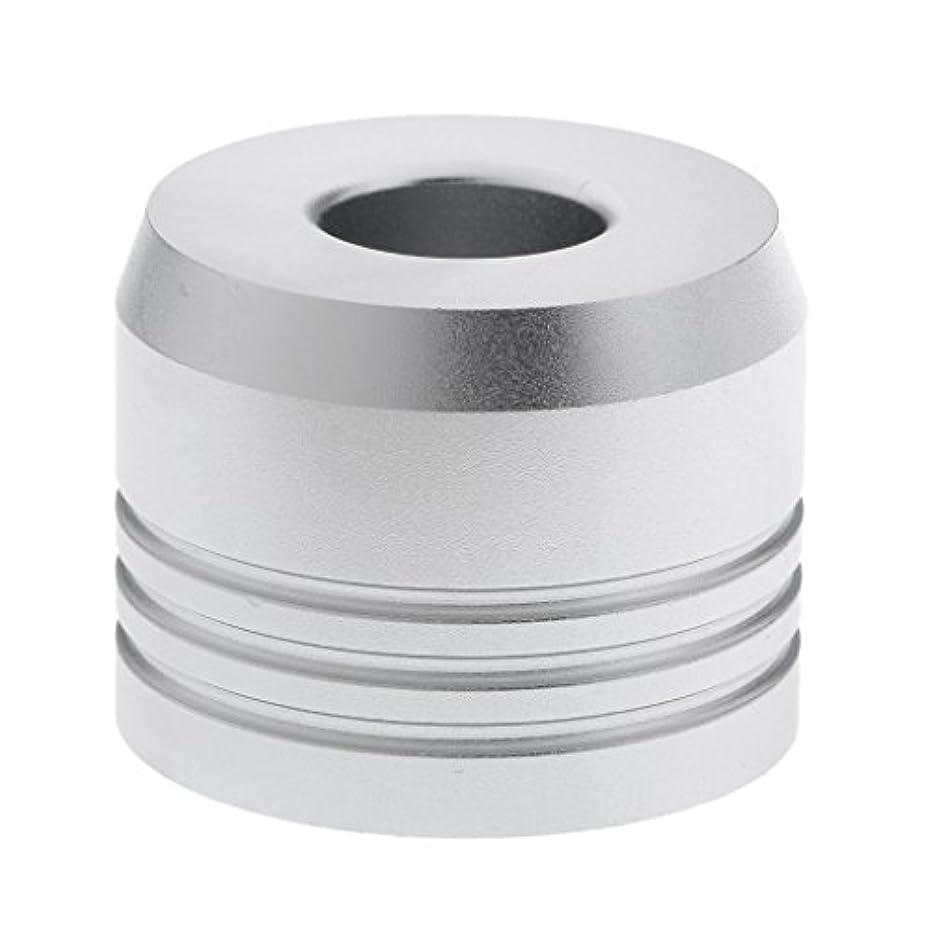 硬化する似ている勝利カミソリスタンド スタンド シェービング カミソリホルダー ベース サポート 調節可 乾燥 2色選べ - 銀