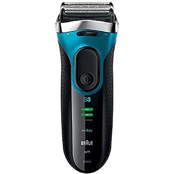 ブラウン シリーズ3 Proskin メンズ電気シェーバー 3枚刃 水洗い/お風呂剃り可 ブルー 3080s-B-JA