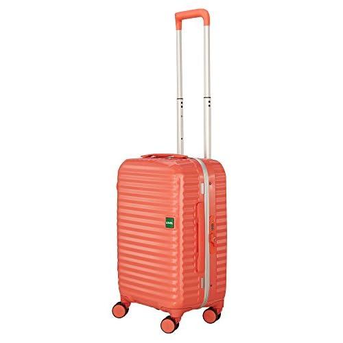 (ロジェール)LOJEL スーツケース Groove 2 Sサイズ 48cm Macaroon-Pink