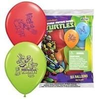 パイオニア国立ラテックスTeenage Mutant Ninja Turtles 12 'ラテックスバルーン、6カウント