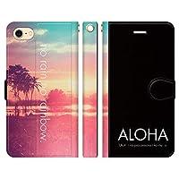 HUAWEI nova 手帳型 ケース カバー ハワイアンモデル 3-W ブレインズ HAWAII ハワイ ALOHA アロハ ハワイアン 海