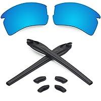 Lenses & Earsocks Rubber Kits for Oakley Flak 2.0 XL Sunglasses