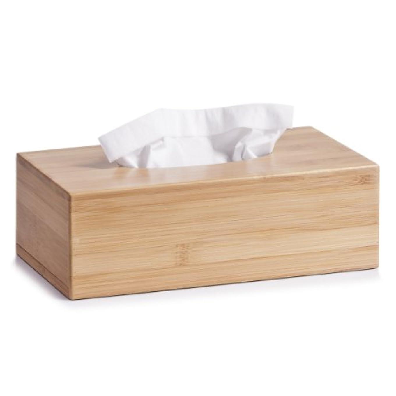 乏しい露かかわらずZeller 25305 Bamboo Tissue Box 27.5 x 15.5 x 8.5 cm