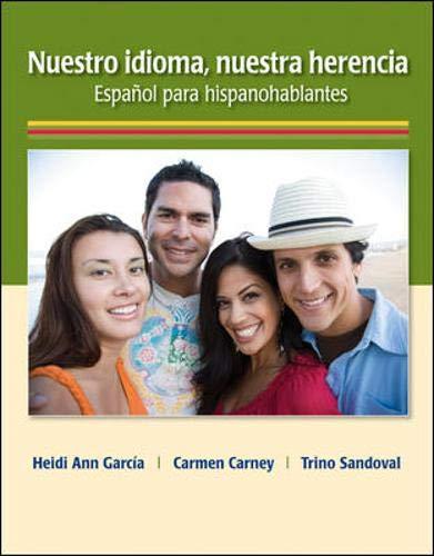 Download Nuestro idioma, nuestra herencia 0073385263