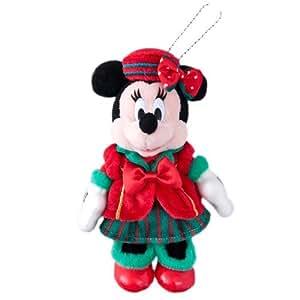 ディズニークリスマス2015 ミニーマウス ぬいぐるみバッジ クリスマス・ウィッシュ【東京ディズニーシー限定】2015年 Xmas パーフェクト クリスマス