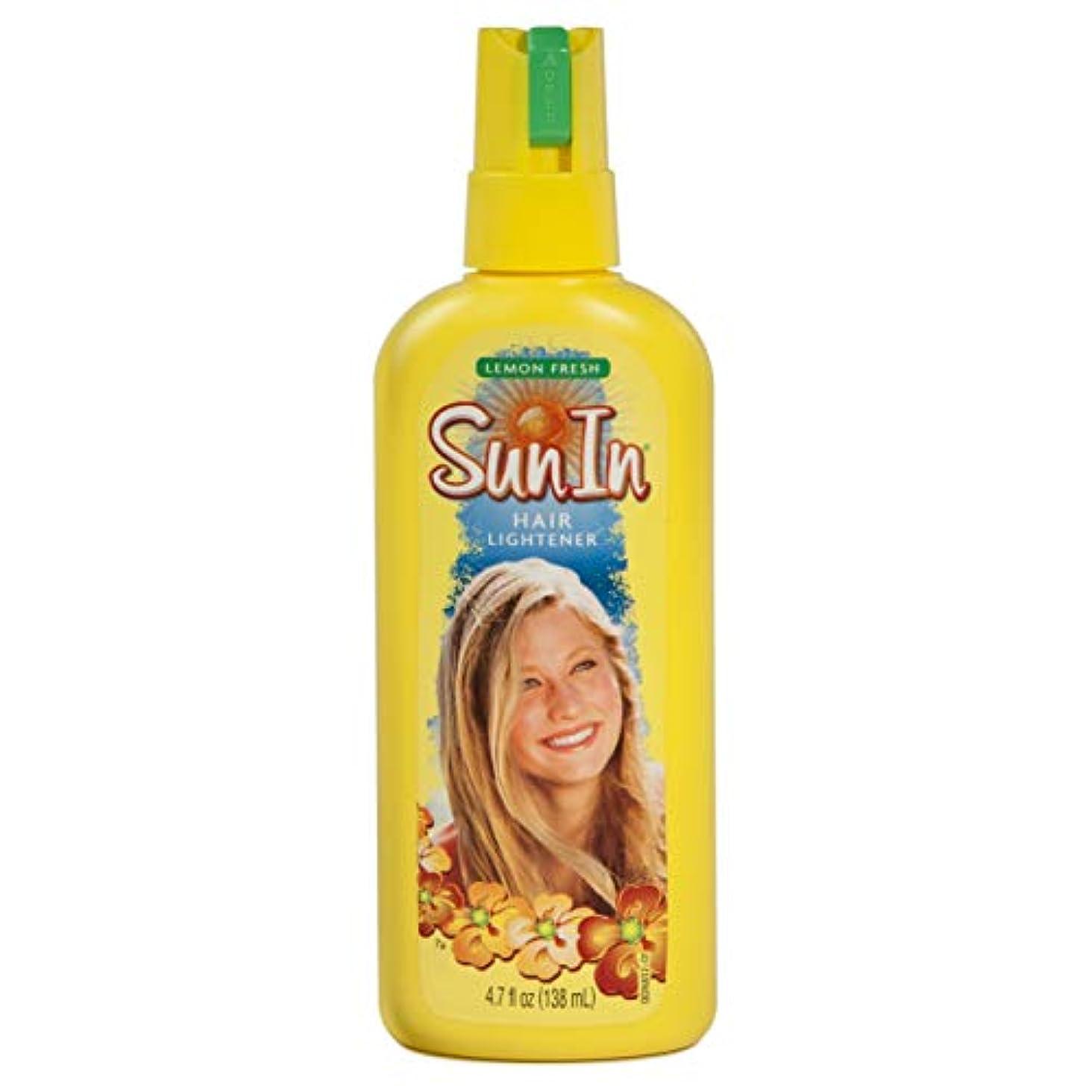 発言する自伝超えて海外直送品Sun-In Sun-In Hair Lightener Spray Lemon Fresh, Lemon Fresh 4.7 oz