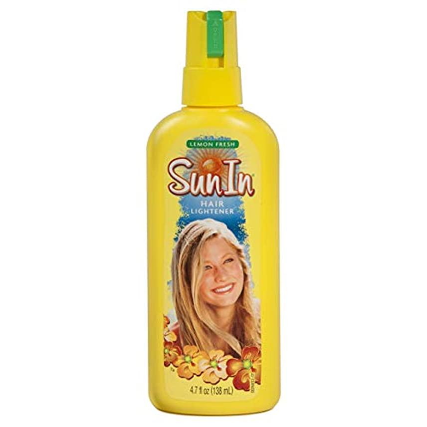 ミリメーターシャーロックホームズ水っぽい海外直送品Sun-In Sun-In Hair Lightener Spray Lemon Fresh, Lemon Fresh 4.7 oz