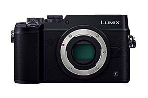 Panasonic ミラーレス一眼カメラ ルミックス GX8 ボディ 2030万画素 ブラック DMC-GX8-K