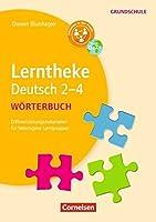 Lerntheke Grundschule - Deutsch: Woerterbuch 2-4: Differenzierungsmaterial fuer heterogene Lerngruppen. Kopiervorlagen