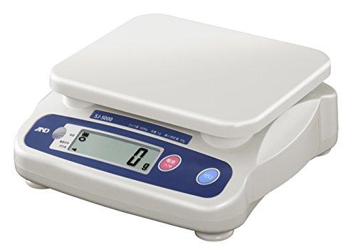 A&D 取引証明用 検定付 デジタルはかり 5kg SJ5000N-JA